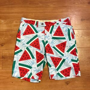 Loudmouth Golf Watermelon Shorts
